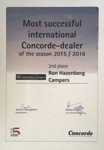 Concorde-dealer-certificaat